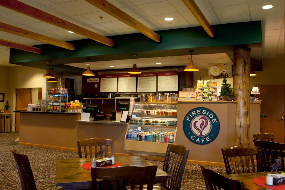 Fireside Cafe & Catering, Located inside of Group Publishing